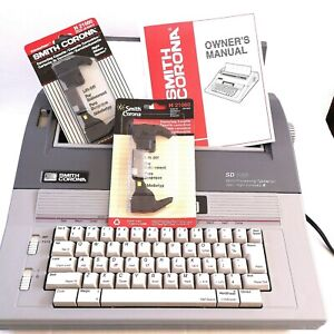 Smith Corona Sd 685 Word Processing Typewriter Spell Right Dictionary Iq