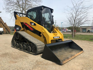 2008 Caterpillar 287c Rubber Track Skid Steer Diesel Cab Ac Cat Skidsteer Loader