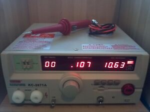 New 10kv Ac dc Hipot Tester High Voltage Meter Insulation Breakdown Test