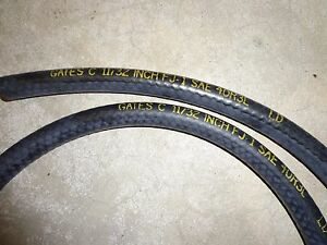 69 72 Mopar Cuda Dart Gtx Gates Dated Pcv Brake Booster Hose W No Date Code 3 Ft