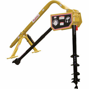 King Kutter Pto Posthole Digger With 6in Auger Model Phd 06 sc yk