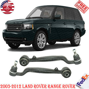 Set Of 2 Control Arm Kit Front Lower Rearward For 03 2012 Land Rover Range Rover