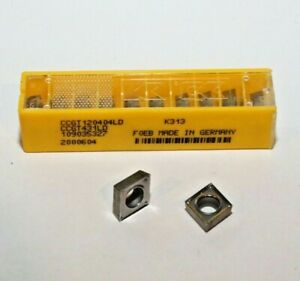 Ccgt 431 Ld K313 Kennametal 10 Inserts Factory Pack