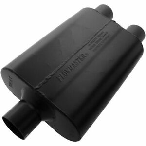 9425472 Flowmaster Super 44 Delta Flow Muffler 2 5 Center In 2 5 Dual Out