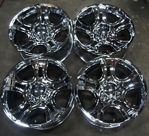 4 Kmc Xd801 Crank 20 Chrome Wheels Rims For Silverado Sierra 2500 2011 19 1601