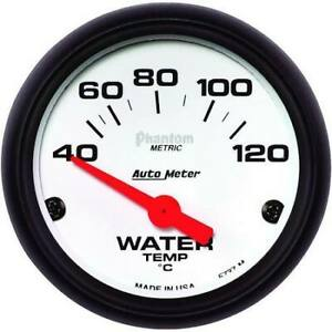 Autometer 5737 Phantom Electric Water Temperature Gauge