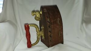 Antique Chinese Bronze Clothes Iron