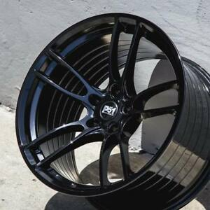 P51 Wheels 19x11 19x11 5 Gloss Black Rims 19 Fit Ford Mustang Gt350 Gt350r