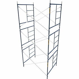 Metaltech Safetstack 5ft X 5ft X 7ft Mason Frame Set Of 3 m mfs606084ak3