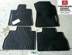 New Oem 07 11 Toyota Tundra Double Crew Max All Weather Floor Mats 4 Piece Set