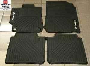 New Oem 2012 2014 Toyota Camry All Weather Floor Mats