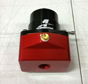 Sale Aeromotive Univ A1000 Fuel Pressure Bypass Regulator 30 70 Psi Red