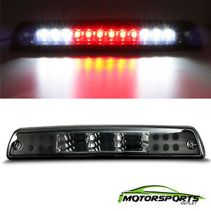 For 1994 2001 Dodge Ram 1500 2500 3500 Black Led 3rd Brake Light Cargo Lamp