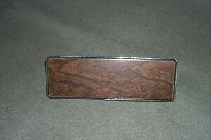 Radio Delete Plate 1971 1972 Ford Galaxie 500 Ltd Country Squire Station Wagon