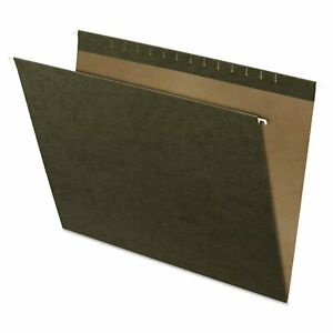 Pendaflex X ray Hanging File Folders No Tabs Standard Green 25 box