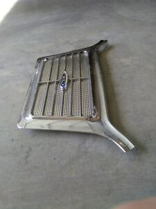 1964 Ford Galaxie Chrome Rear Seat Speaker Grill