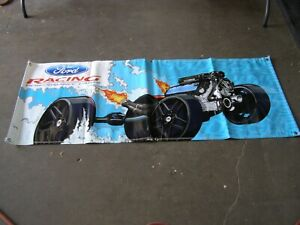 New Ford Muscle Parts Vinyl Banner 68x27 Mustang Fairlane Torino Cobra Gt 5 0l