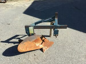 Very Nice Leinbach 3 Point Hitch Single Bottom Plow