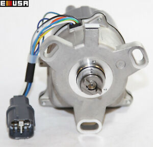 Ignition Distributor With Cap For 96 01 Acura Integra Ls Rs Se 1 8l Obd2 Td85u