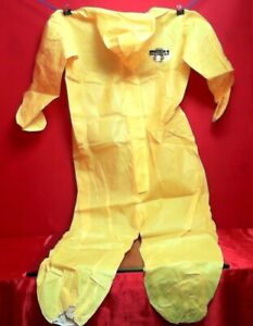 Lakeland C5428 xl Protective Coverall Xl W Hood Zipper Elastic Wrists ankles