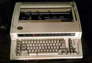 Ibm Personal Wheelwriter Electric Typewriter Sr380 Tested And Working Well