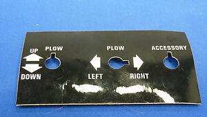 Meyer Snow Plow Toggle Switch Control Panel Sticker Lot Of 1