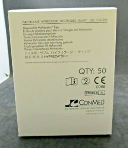 Conmed 7 101 8bx Electrolase Hyfrecator Electrodes Blunt Exp 03 20 Box Of 50