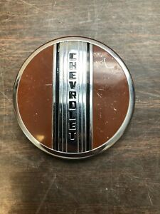 1941 Chevy Master Deluxe Steering Wheel Horn Button Emblem Maybe Nos Nice 419