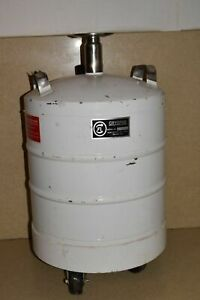 Cryofab Model Cfl 25 25 Litre Liquid Nitrogen Dewar W Castered Wheels