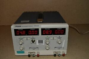 Protek Dual Dc Power Supply Model 3032b dual 0 30v 0 3 Amps f3