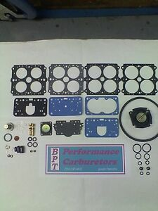 Holley Model 4160 Vacuum Secondary Deluxe Carburetor Rebuild Kit