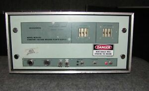 Hughes Model Mcw 550 Constant Voltage Welding Power Supply 1876