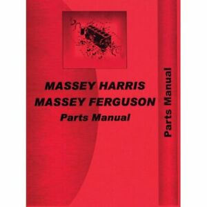Parts Manual 290 Massey Ferguson 290 290
