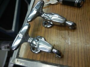 1957 1956 Thunderbird Hard Top Front Tee Handle Clamps