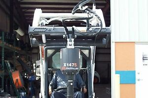 Skid Steer Auger Mcmillen X1475 All Gear Drive for Smaller Loaders Hex Drive