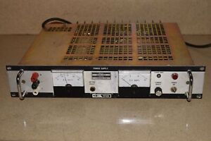 Trygon Systron Donner Model Rs40 15b 0 40vdc 15a Dc Power Supply