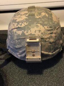 MSA US MILITARY ISSUE LARGE ACH  HELMET WITH CAMO COVER