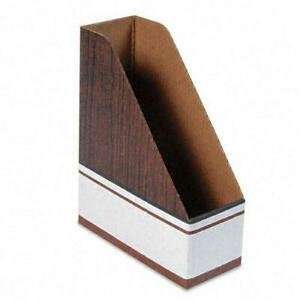 Bankers Box Four inch Magazine File case Of 12 4 X 9 X 11 5