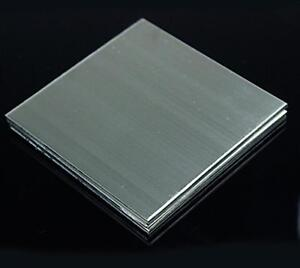 Us Stock 4pcs 0 5mm X 5 X 5 304 Stainless Steel Fine Polished Plate Sheet