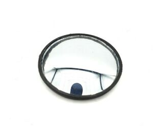 2 Pack Blind Spot Mirror Round 2 Convex Glass Mirrors Stick On Adhesive Black