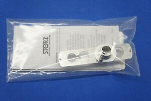 Karl Storz 10338p Pediatric Adaptor With Sliding Window And Rubber Telescope
