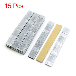 2 1oz Adhesive Back Wheel Balance Weights Strips For Motorcycle 136 X 19mm 15pcs