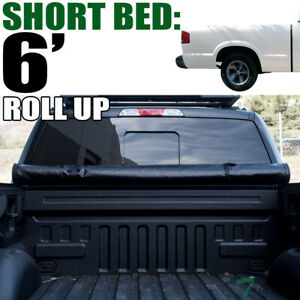 Topline For 1994 2003 Chevy S10 gmc S15 Sonoma 6 Bed Lock Roll Up Tonneau Cover