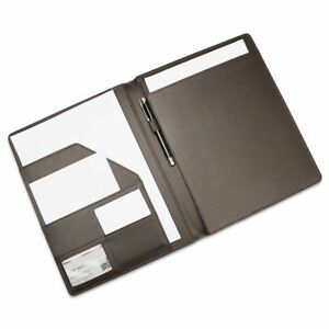 Leather File Folder Paper New Padfolio For Office School Supplies Desk Organizer