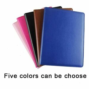 Multi Function File Folder Organizer Padfolio Leather Cover Calculator Notepad