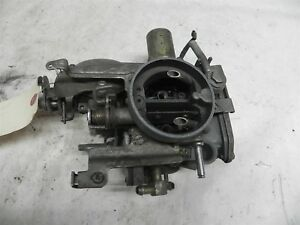 Nikki No S 2 Barrel Carburetor Core Nice Vintage Nissan Toyota British Car Wow