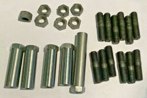 67 69 Mopar A Body Dart Barracuda 383 440 Exhaust Manifold Fastener Set