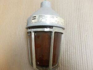 Crouse Hinds Vda25 Fixture 120v 150w Explosion Proof Kma