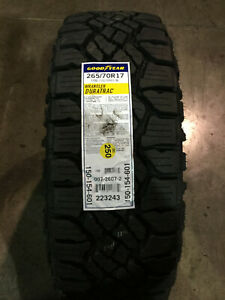 2 New 265 70 17 Lre 10 Ply Goodyear Wrangler Duratrac Tires