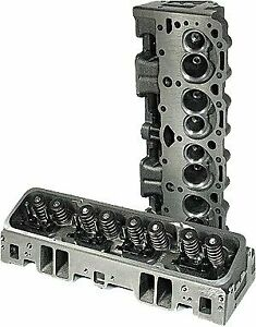 Promaxx Performance 2151 Cast Iron Small Block Chevy Vortec Cylinder Heads